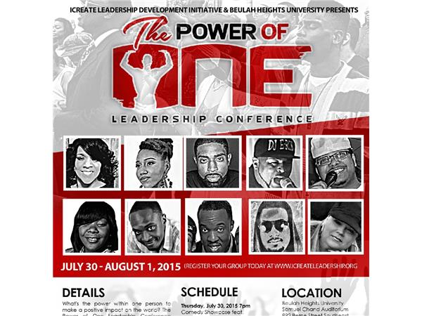 """""""The Power of One"""""""